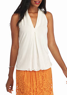 Sophie Max Banded Bottom Knit Tank