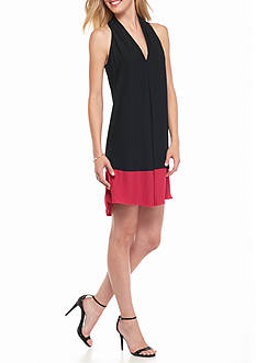 Sophie Max Colorblock Sleeveless Dress