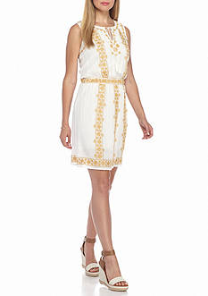 Sophie Max Embroidered Dress