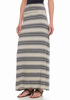 Sophie Max Striped Knit Maxi Skirt