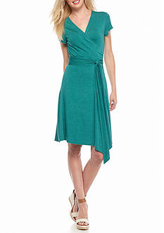 Sophie Max Knit Wrap Dress