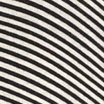 Sophie Max Women Sale: Black Multi Sophie Max Asymmetrical Striped Top
