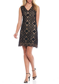 Sophie Max Sleeveless Lace Dress