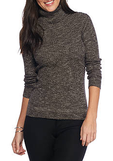 Sophie Max Long Sleeve Ribbed Turtleneck