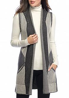 Sophie Max Long Sweater Vest
