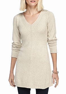 Sophie Max Pointelle Tunic Sweater