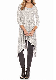 Sophie Max Space Dye Heathered Tunic