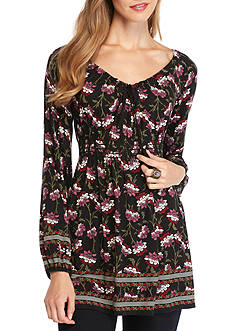 Sophie Max Printed Long Sleeve Tunic