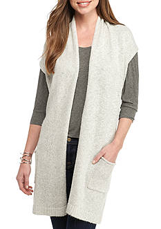 Sophie Max Open Front Sweater Vest