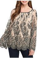 Sophie Max Long Sleeve Lace Top