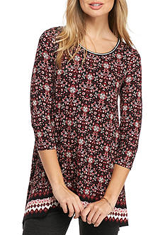 Sophie Max Printed Jersey Tunic