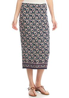 Sophie Max Knit Midi Skirt