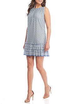 Sophie Max Mini Floral Lace Dress