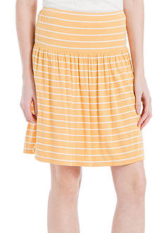 Sophie Max Striped Jersey Skirt