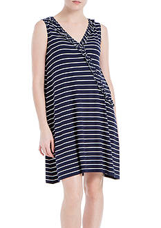Sophie Max Striped Jersey Dress