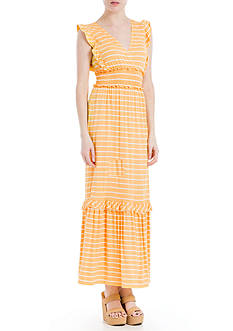 Sophie Max Striped Jersey Maxi Dress