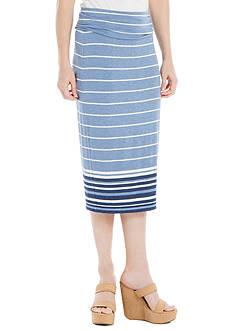 Sophie Max Fold Over Midi Skirt