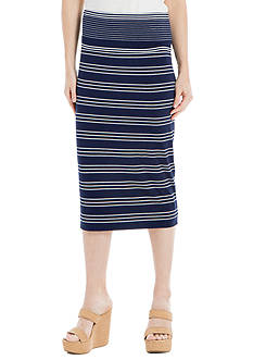 Sophie Max Fold Over Midi Skirt