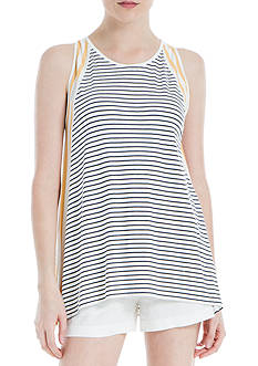 Sophie Max Sleeveless Striped Top