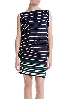 Sophie Max Stripe Jersey Dolman Dress