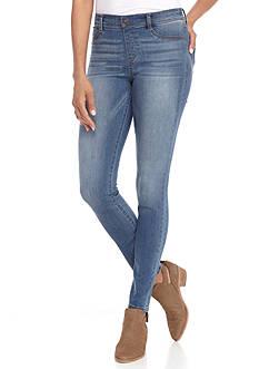 Rewash Denim Pull On Skinny Jeans