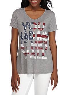 Kim Rogers Short Sleeve America Tee