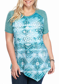Kim Rogers Plus Size Screen Tee