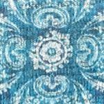 Petite Activewear Tops: Blue Kim Rogers Shark Stud Hachi