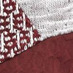 Petite Tops: Knit Tops: Berry Kim Rogers Petite 3/4 Sleeve Spliced Top