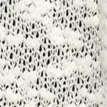 Women's Plus: Sweaters Sale: Ivory Kim Rogers Plus Size Crochet Back Cozy