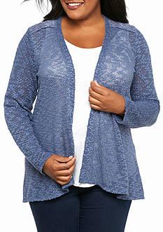 Kim Rogers Plus Size Crochet Back Cozy