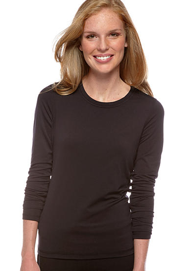 be inspired® Long Sleeve Scoop Neck Jersey Tee