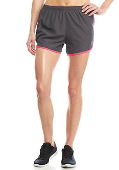 be inspired Solid Block Woven Elastic Running Shorts