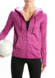 be inspired® Heather Zip-Up Hoodie