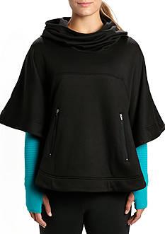be inspired Hooded Fleece Poncho