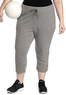 be inspired Plus Size Jogger Capris