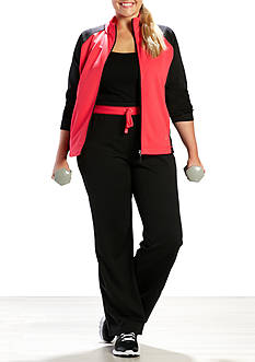 be inspired Plus Size Two Set With Black Sleeve