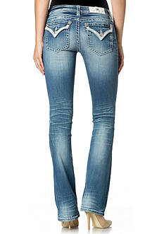Miss Me Embellished Pocket Bootcut Jeans