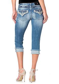 Miss Me Embellished Pocket Capri Jeans