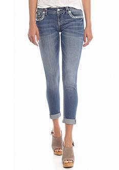Miss Me Embellished Capri Jeans