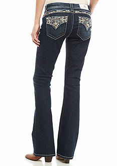 Miss Me Embroidered Back Bootcut Jean