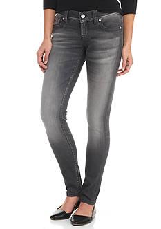 Miss Me Dark Gray Skinny Jeans