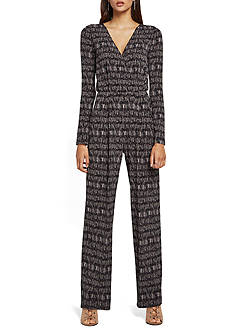 BCBGeneration Printed Jumpsuit