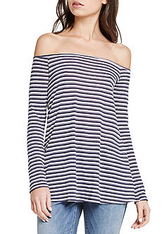 BCBGeneration Off Shoulder Layering Top