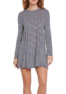 BCBGeneration A-Line Long Sleeve Dress