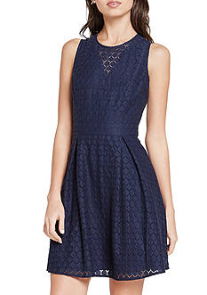 BCBGeneration Overlay Lace Dress