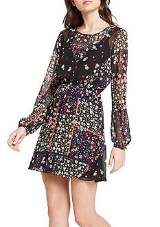 BCBGeneration Mixed Print Dress