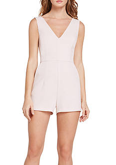 BCBGeneration Structured Short Romper