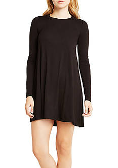 BCBGeneration Long Sleeve Back Yoke Dress