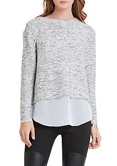BCBGeneration Layered Knit Top